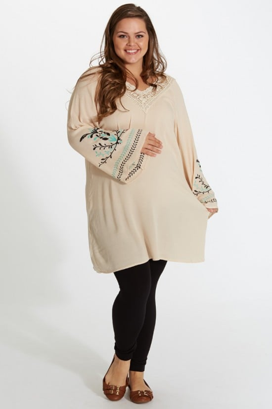 plus size maternity clothing