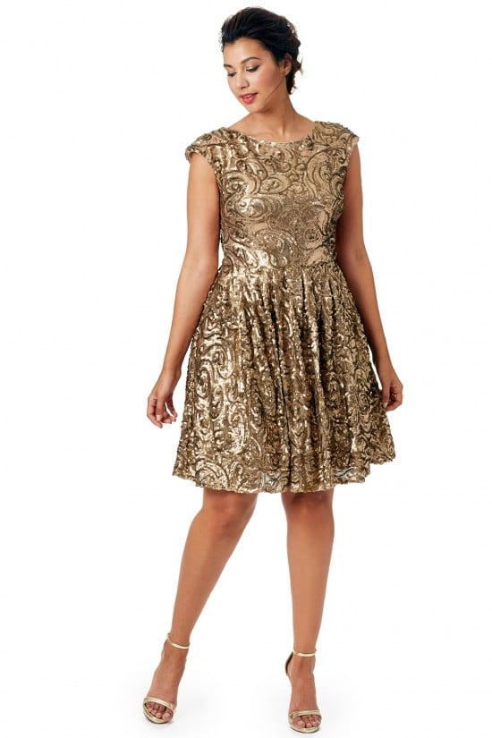 Holiday dress for plus size
