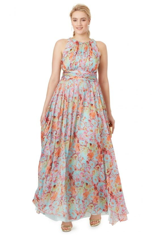 Plus size dresses by designers