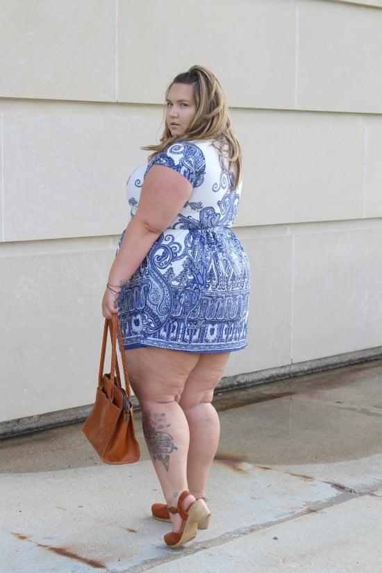 Fat girls in short shorts
