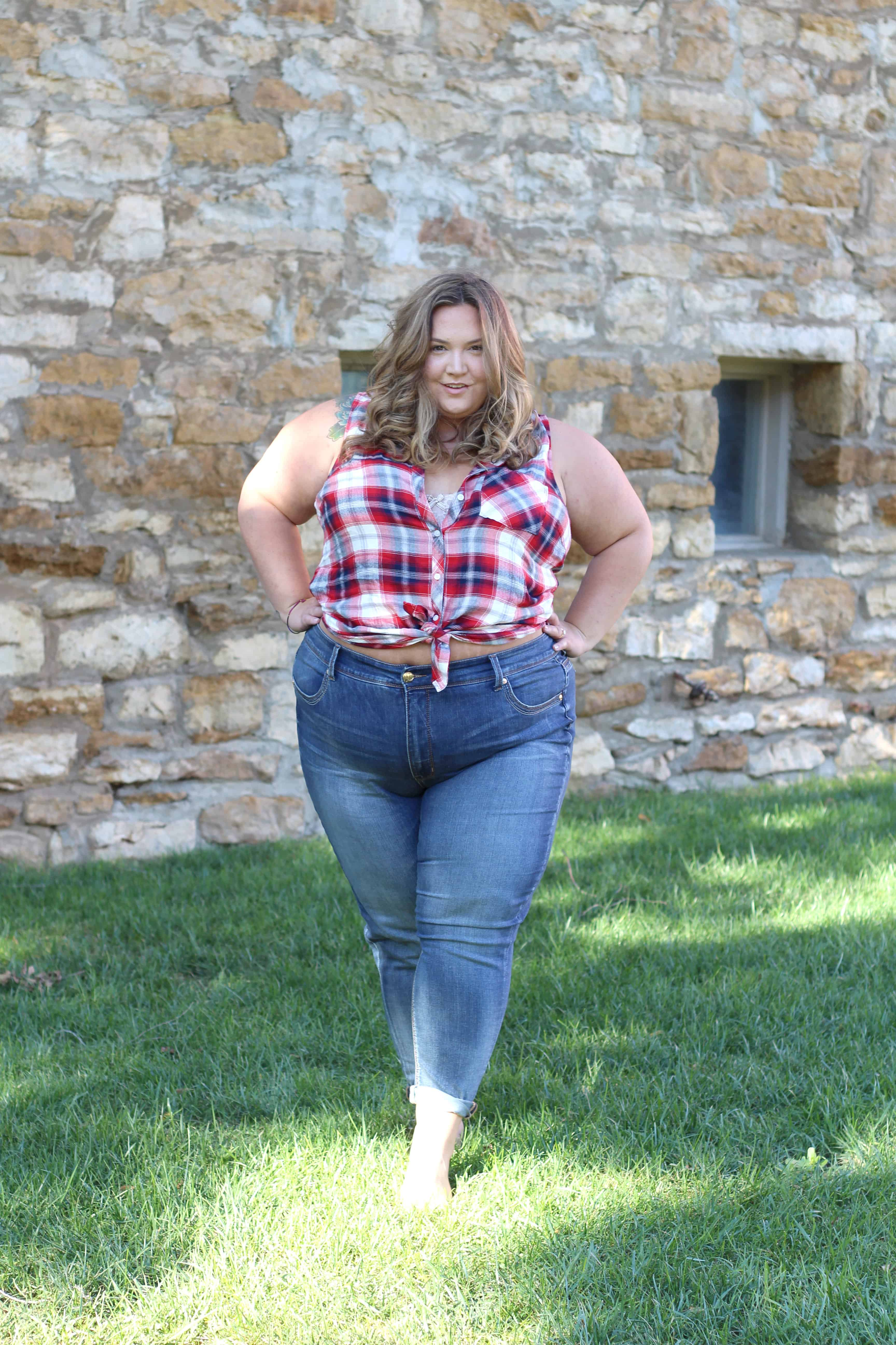 PLUS SIZE JEANS FROM THE NEW MELISSA MCCARTHY LINE AT HSN - Fat ...