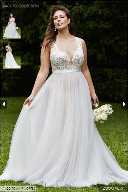 fat girl bridesmaid dresses