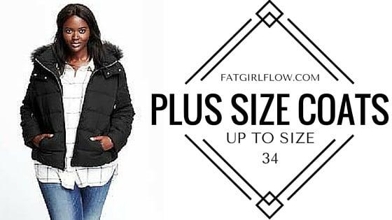 Plus Size Coats Up To Size 34 - PLUS SIZE COATS Up To Size 34 - Fatgirlflow.com