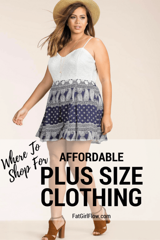Cheap Plus Size Clothing Stores - FatGirlFlow.com