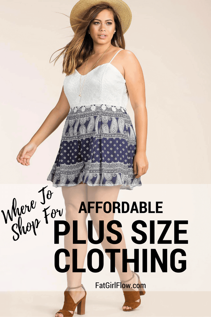 Cheap clothes for plus size women