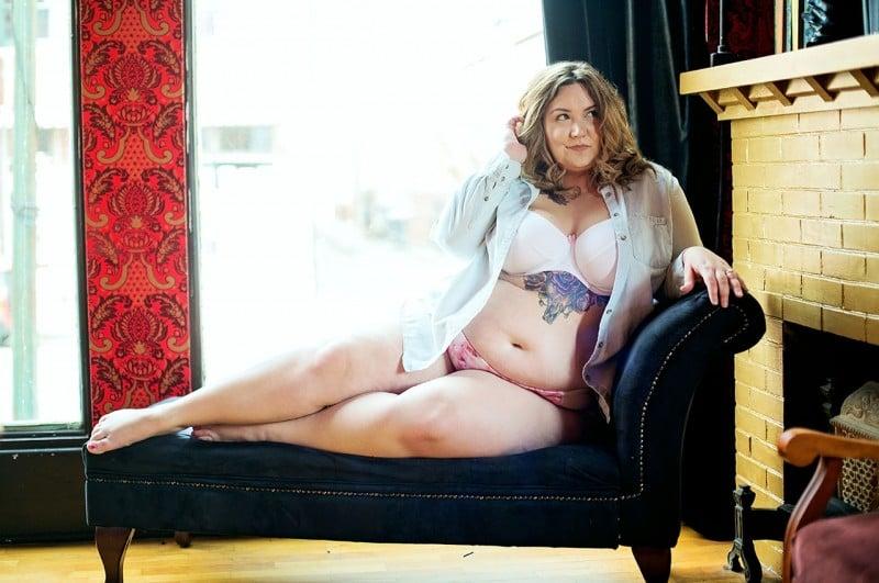 Plus Size Boudoir by KelseyKimberlin.com