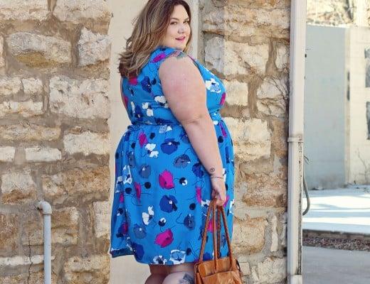 Spring Style with GwynnieBee // Fatgirlflow.com