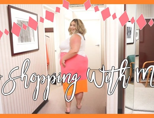 #HereIAm // Go Shopping With ME! // Fatgirlflow.com