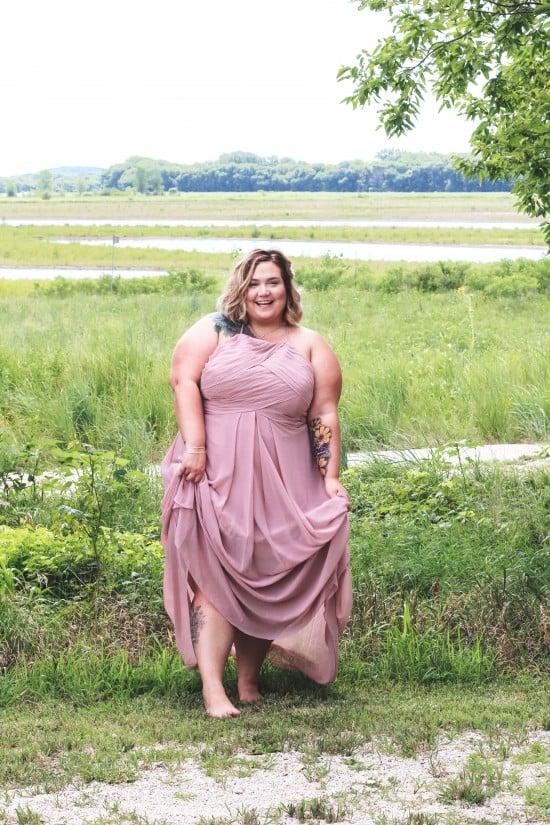 Plus Size Bridesmaid Dresses from Azazie.com // Fatgirlflow.com
