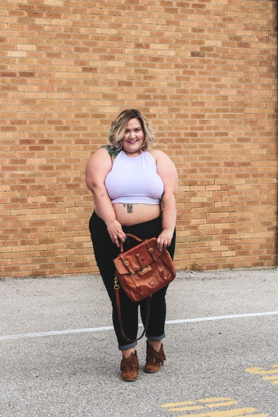 When Your Outfit Matches Your Attitude // Fatgirlflow.com