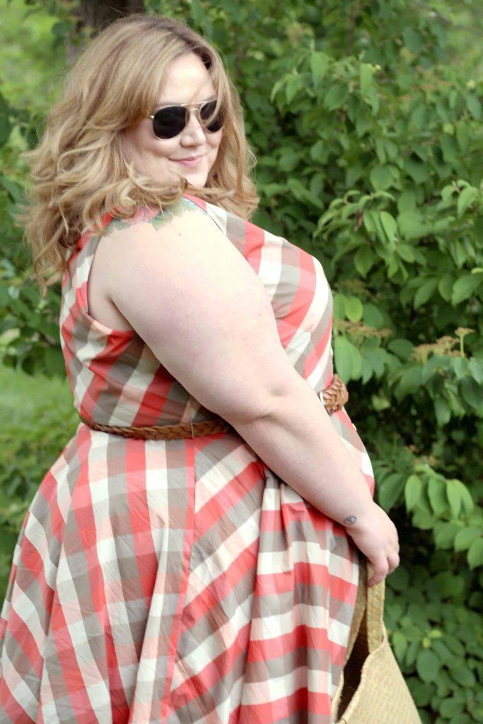 Plus Size In Plaid | www.fatgirlflow.com