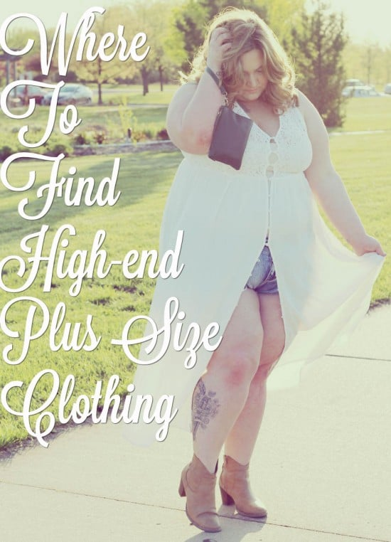 Where to find high-end plus size clothing | www.fatgirlflow.com