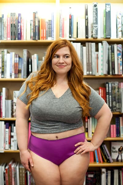 Remarkable, very Fat hipster girl variant does