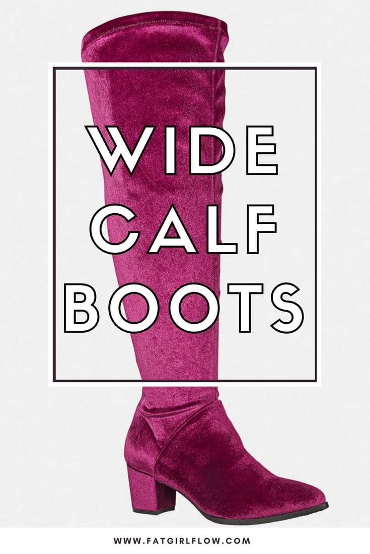 Where To Buy Wide Calf Boots For Plus Size Babes Fat Girl Flow