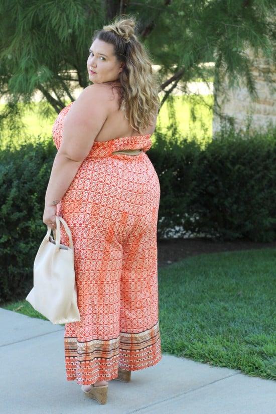 Plus Size Eshakti Jumpsuit    www.fatgirlflow.com