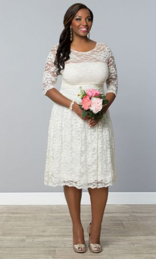 Where To Shop For The Plus Size Bride - Fatgirlflow.com