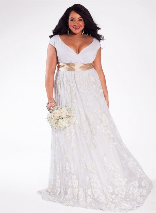 Where to shop for the plus size bride for Alternative plus size wedding dresses