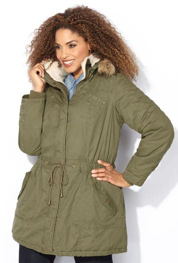 plus size coats up to size 34 - fatgirlflow