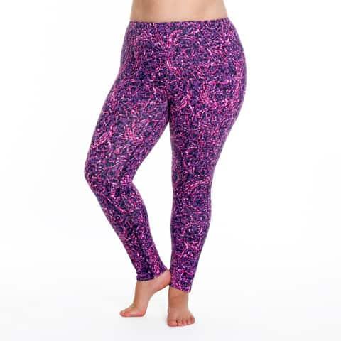 Bbw black stretch pants