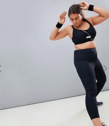 Plus size active wear // fatgirlflow.com