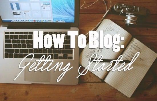 So You Wanna Blog?