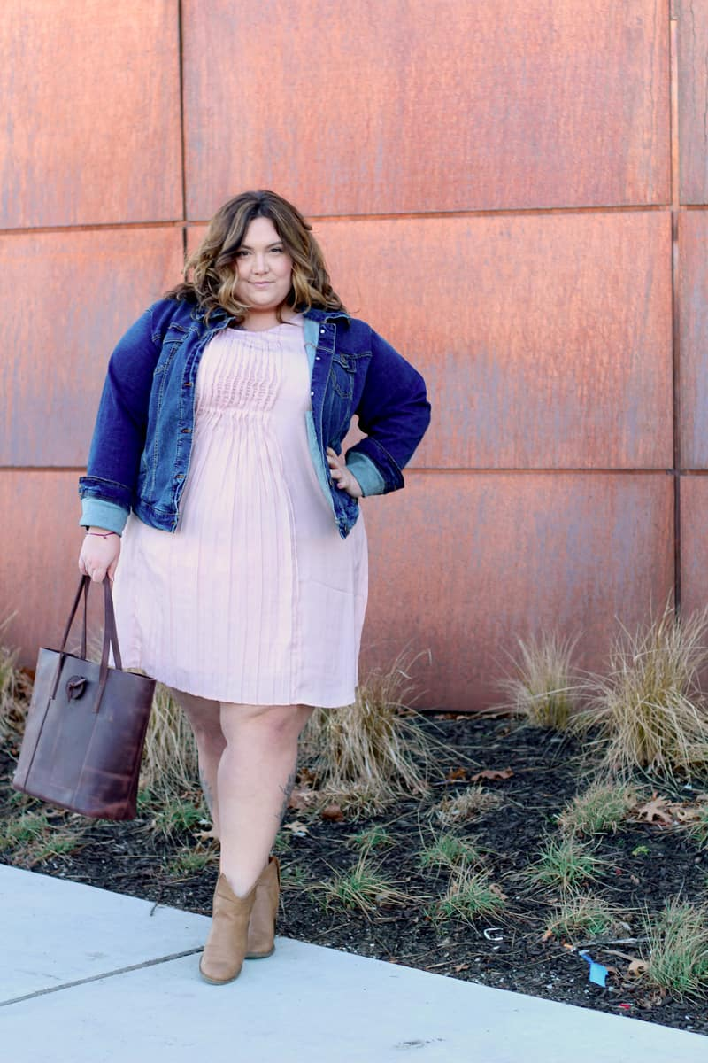 Pretty pink plus size dress fat girl flow for Dress shirts for big bellies