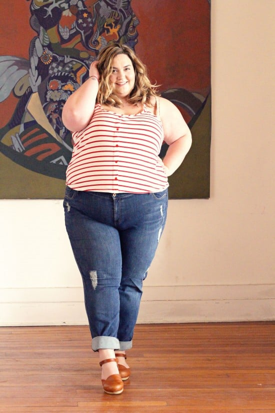 My Favorite Plus Size Jeans // Fatgirlflow.com